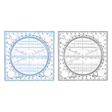 Kaleidoscope Geometric Function Fast Drawing Measuring Ruler Multifunctional