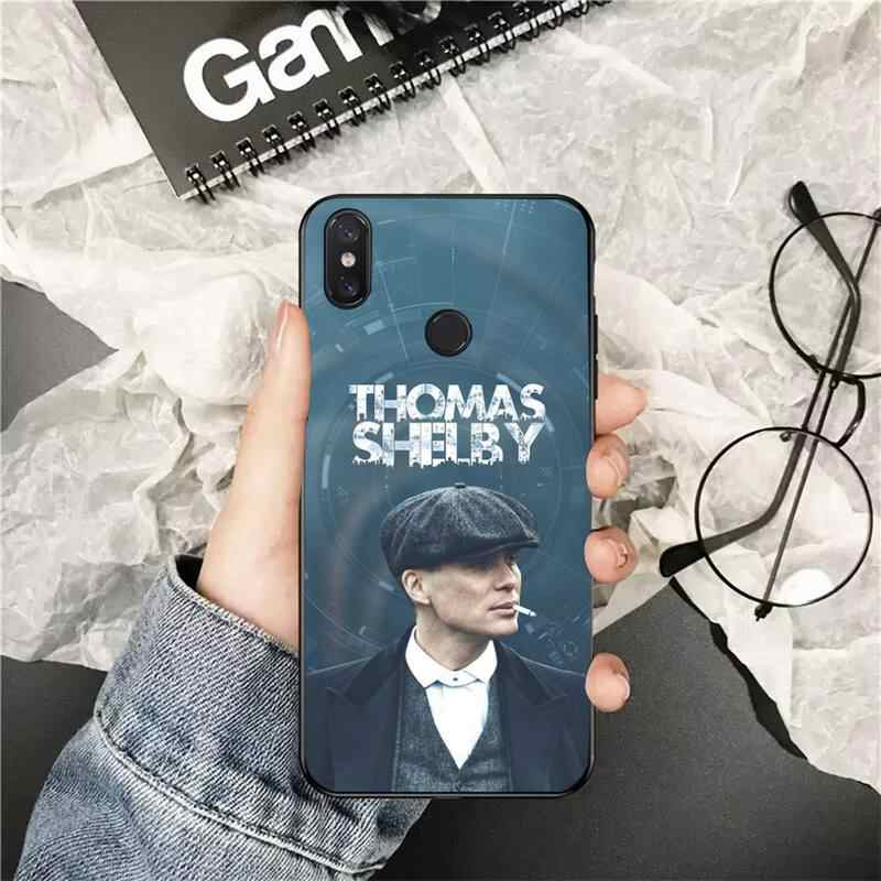 Yinuoda Peaky Blinders Thomas Shelby Ponsel Case Penutup untuk Xiaomi Redmi 5Plus 5A 6 6A 7 7A Note 7 8 8T 8Pro
