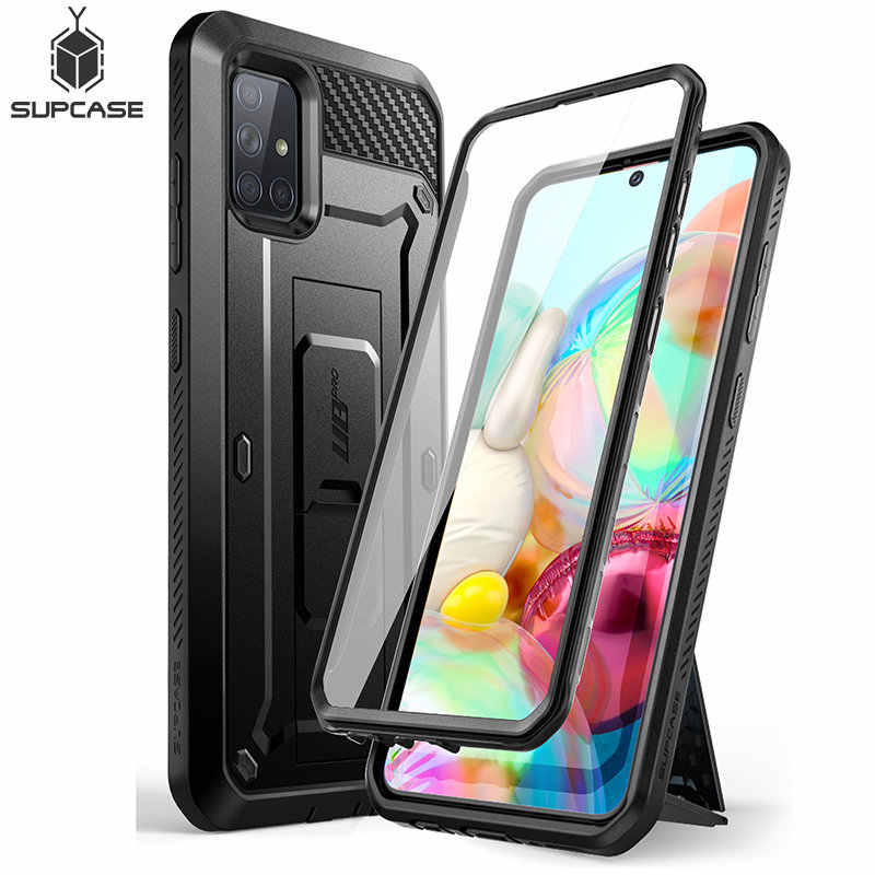 For Samsung Galaxy A71 Case (Not Fit A71 5G Series) SUPCASE UB Pro Full-Body Rugged Holster Cover with Built-in Screen Protector