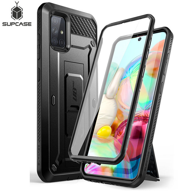 For Samsung Galaxy A71 Case (Not Fit A71 5G Series) SUPCASE UB Pro Full Body Rugged Holster Cover with Built in Screen Protector