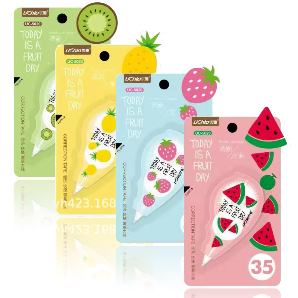 Kawaii Cute Fruit Watermelon Correction Tape Student Stationery Gift School Supplies