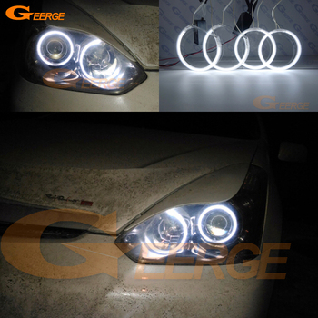 цена на For TOYOTA WISH 2005 2006 2007 2008 2009 facelift Excellent Ultra bright illumination CCFL Angel Eyes kit Halo Ring