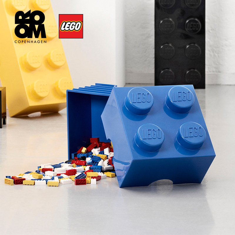 Storage Box Toy Storage Box 4 Barrels Square Storage Box Mini Xiao Tao Zhuang Storage Box