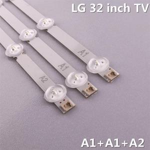 Image 3 - (ערכה חדשה) 3pcs(2 * A1 * 7 נוריות 1 * A2 * 8 נוריות) 630mm LED תאורה אחורית רצועת עבור TX L32B6B 6916L 1295A 6916L 1296A 1105A 1106A