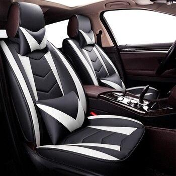 PU Leather car seat covers For Toyota corolla verso 2006 cruiser 200 estima fj cruiser fortuner 2017 hilux lc 200 mark 2