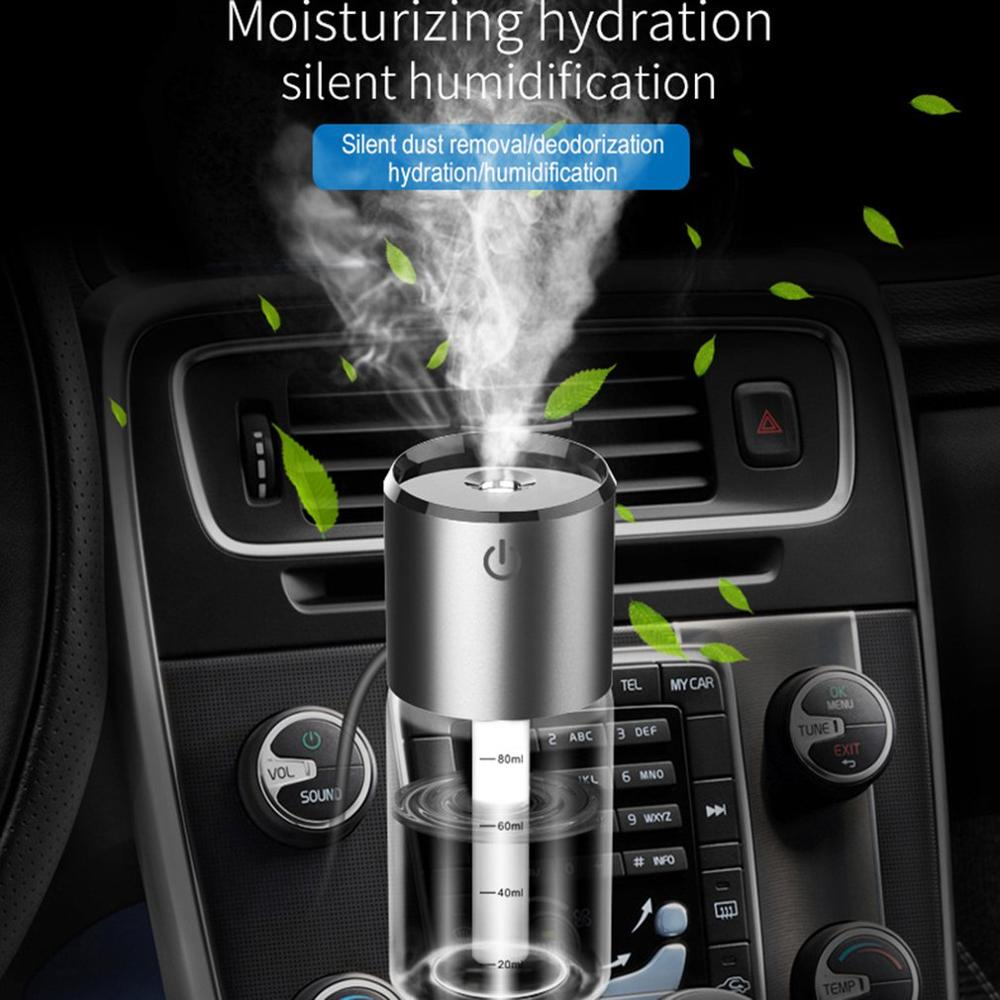BC35B Usb Air Spray Aromatherapy Car Humidifier Mini Diffusers Car Air Purifier Portable Auto Mist Humidifier