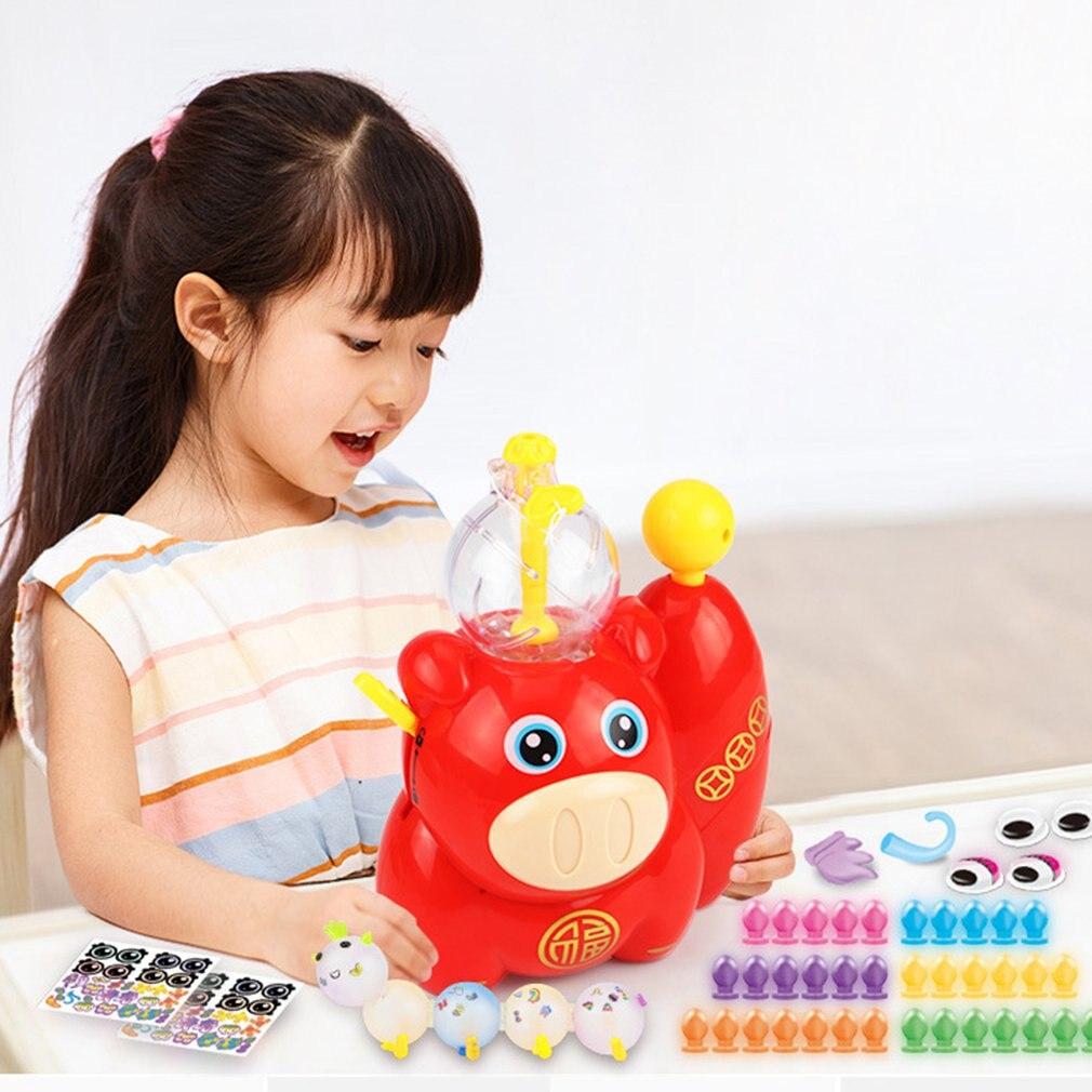 Children'S Funny Magic Sticky Toys Children'S Diy Handmade Creative Sticky Balls Fun Inflatable Toys