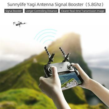 Dla DJI Mavic 2 Air Mini kontroler zdalny Spark Yagi wzmacniacz sygnału anteny dla Phantom4 Pro Fimi X8 SE 2020 akcesoria do dronów tanie i dobre opinie CAENBOO CN (pochodzenie) 26g 1Pair Smart Remote Controller Yagi Antenna Signal Booster For DJI Mavic 2 Pro Controller Antenna Signal Booster