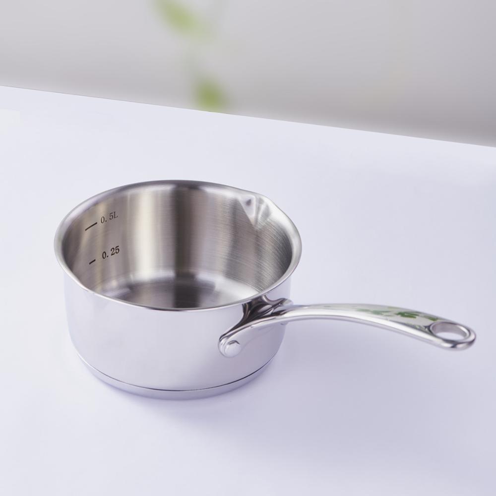 500 мл мини шоколадный молочный соус кухонная кастрюля для пикника горшок из углеродистой стали нагревательный горшок без кастрюли