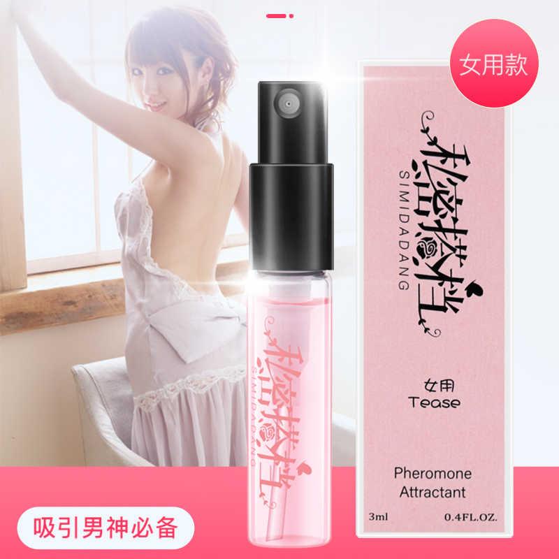 3ML phéromone parfum aphrodisiaque femme orgasme corps Spray Flirt parfum attirer fille eau parfumée pour hommes lubrifiants pour sexe