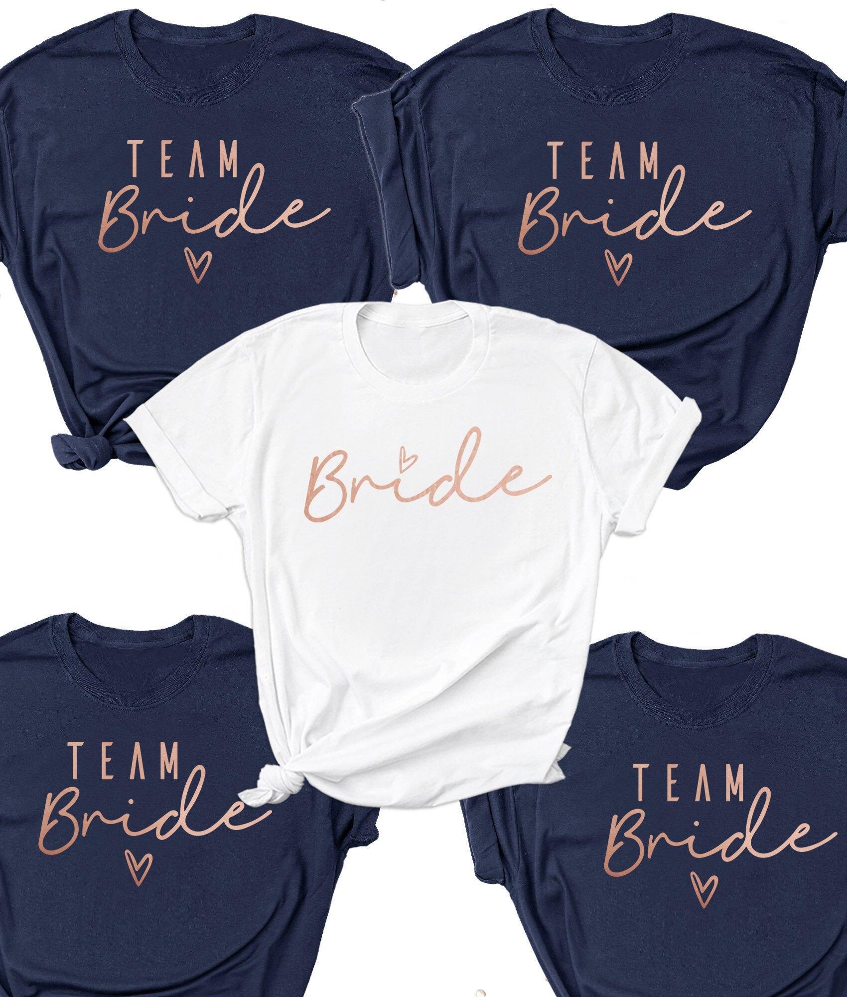 Noiva Da equipe Camisas | Fazer Camisas Do Partido de Galinha com Em Torno Do Pescoço Cross-Border T-shirt Personalizada | Festa de Despedida