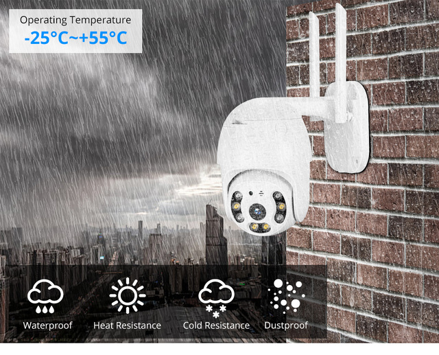MISECU H.265X PTZ Wifi IP Camera 1080P 5MP Speed Dome AI Security Camera Wireless 2 Way Audio Outdoor Waterproof IR Color Night 25