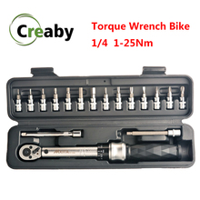 Professional Preset Torque Wrench 1/4