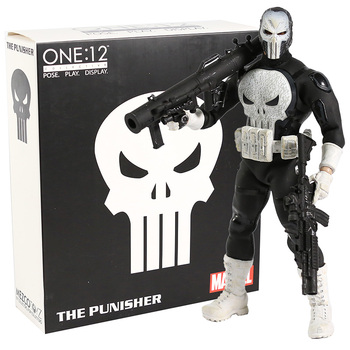 Mezco The Punisher One:12 PVC Action Figure Collectible Model Toy