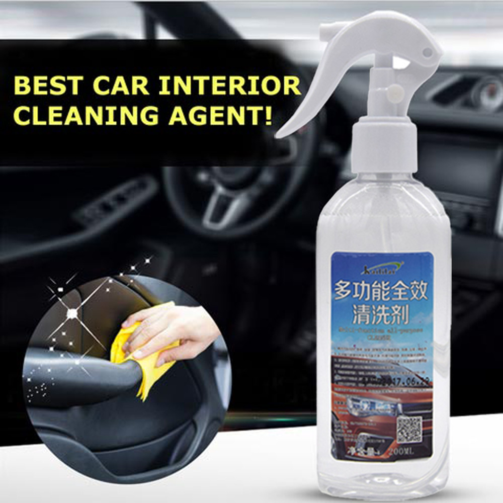 Best Selling 2019 Products NEW Multi functional Car Interior Agent Universal Auto Car Cleaning Agent X7.9|Detergent| |  -
