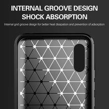 For Xiaomi Redmi 9A Case Carbon Fiber Shockproof Soft Silicone Cover for Xiaomi Redmi 9A 9C Redmi 9 Note 9 Pro Mi Note 10 Lite
