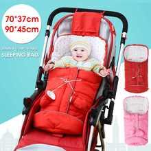 Зимний детский спальный мешок для коляски, спальные мешки, теплый Конверт для новорожденных, ветрозащитные спальные мешки для коляски