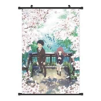 Anime Koe No Katachi A Silent Voice Ishida Shoya Wall Poster Scroll Picture Wallpaper Stickers Poster 20x30cm image
