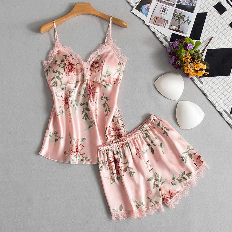 Bayan Pijama Setleri dantel üstler 5 Adet Seksi Pijama Yaz Sonbahar Pijama Giysileri Kadınlar için Kadın Ev Suits Kıyafeti