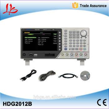 HDG2012B High precision Digital DDS Function Signal Arbitrary Waveform Generator 2CH 10MHz 250MSa/s 64M Memory Depth