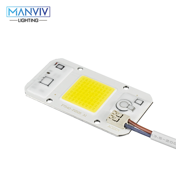 5pcs LED COB Chip 20W 30W 50W Warm Cold White Grow Light Dimmable Not Need Driver DIY For LED Lamp Bulb LED Spotlight Floodlight ac110 220v high power led cob chip diode lamp 20w 30w 50w cool white warm white led matrix for diy outdoor floodlight spot light
