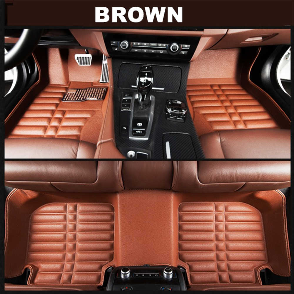 SJ 3D Waterproof Custom Car Floor Mats Front & Rear FloorLiner Styling Auto Carpet Mat FIT For SKODA Octavia 2007 2008 2009-2014