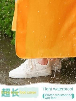 Long Transparent Raincoat Electric Motorcycle Raincoat Adult Long Coat Women Thickening Increase Rain Poncho Coat Hiking Gift 3