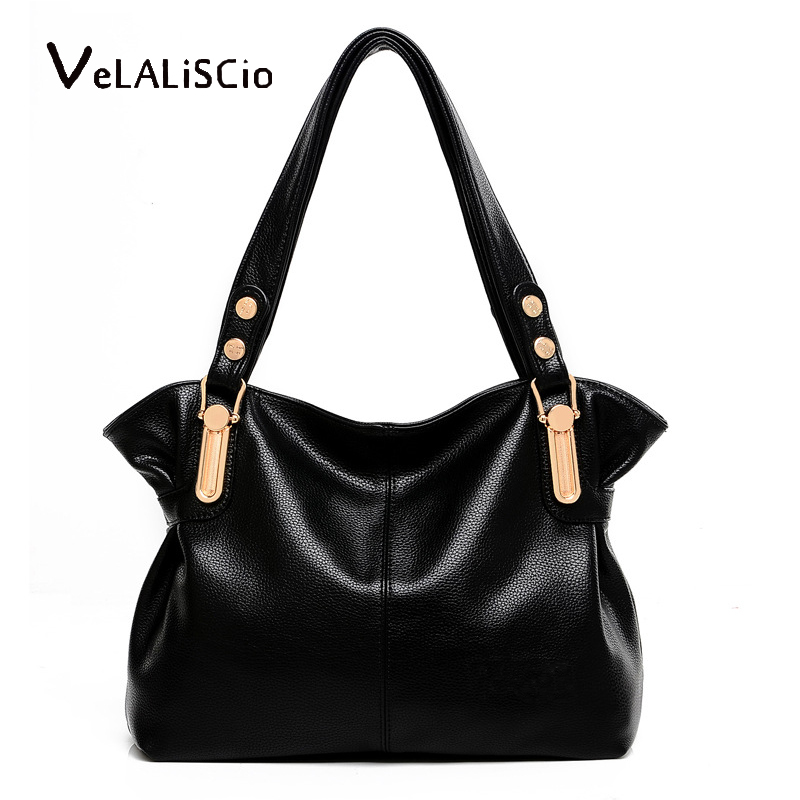 VELALISCIO Women Bag Crossbody Bag Leather Handbags Women Shoulder High Quality Female Fashion Totes Ladies Messenger Bag