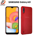 Смартфон Samsung Galaxy A01, телефон с экраном 5,7 дюйма, 2 Гб ОЗУ 16 Гб ПЗУ, Восьмиядерный процессор, Android 10, две SIM-карты, аккумулятор 3000 мАч