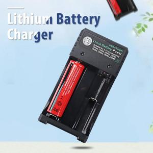 Image 3 - BH 042100 02U battery charger Usb Lithium battery charger Universal 2 Slots Intelligent Battery Charger for 26650 14500 Battery