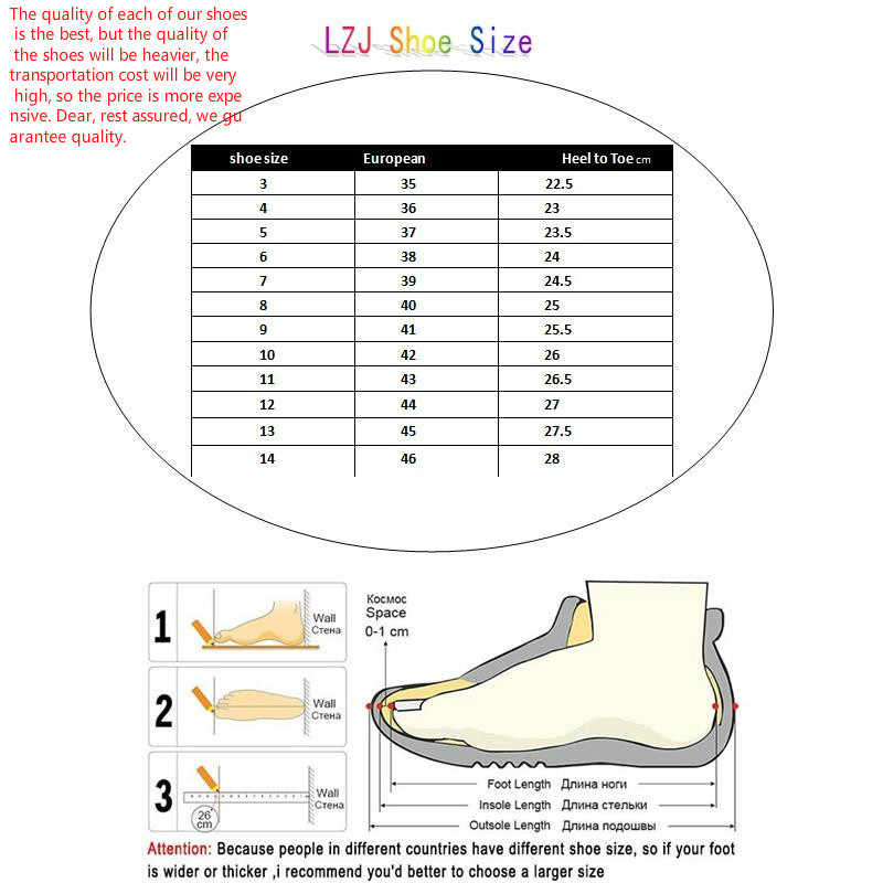LZJ/Новинка 2020 года; Зимние женские полусапожки; повседневные ботинки из матовой искусственной кожи с толстой подошвой и ремешками; большие размеры 35-43