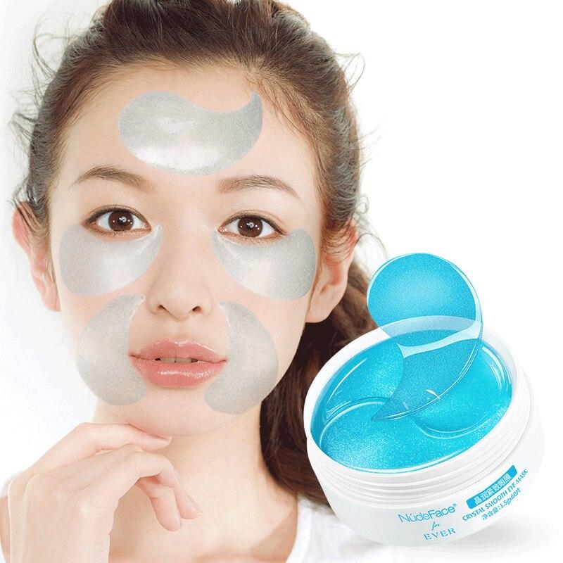 60 pièces de maquillage sous les yeux patchs masque Hydrogel collagène masque rides cosmétiques soins de la peau Gel masque pour les yeux patchs coréen Gel cosmétique
