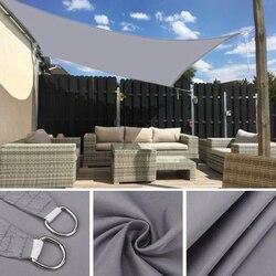 Waterproof Large Shade Sail Square Rectangle Garden Terrace Canopy Swimming Sun Shade Outdoor Camping Yard Sail Awnings