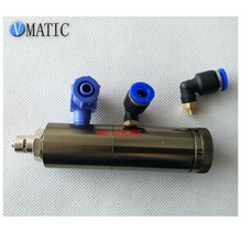 High Quality Glue Dispensing Pneumatic Tip-Seal Fine Flow Adjustment With Dial Luer Lock Connection Valve