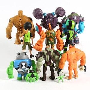 Image 4 - 11 יח\סט בן אפור משנה Heatblast Humongousaur ראט Vilgax PVC פעולה דמויות ילדי צעצועי מתנות