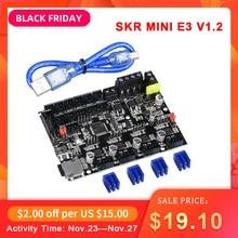 BIQU BIGTREETECH SKR MINI E3 V1.2 32 Bit, carte de contrôle intégrée, contrôleur intégré, TMC2209 UART, mise à niveau TMC2208, Ender3 Pro, imprimante 3D