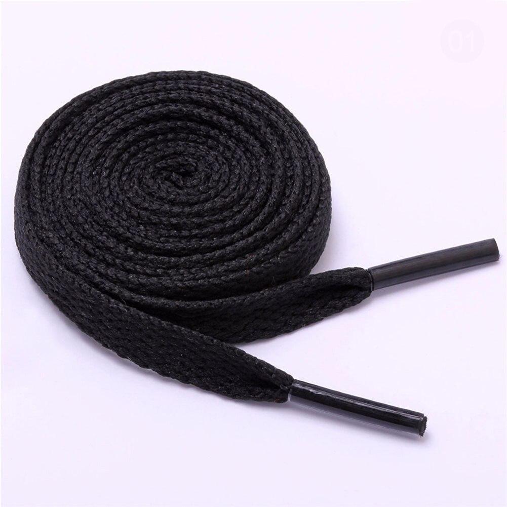 120cm Flat Shoelaces Solid Color Sneaker Shoe Laces Strings Shoelaces Bootlaces Sport Boot Lace Athletic Shoe String