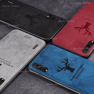 Fabric Deer Cloth TPU Case For For Xiaomi Mi A3 lite CC9E 9T Redmi Note 8 7 6 5 Pro S2 7A 6A 5plus 4X Shockproof Cover Fundas(China)