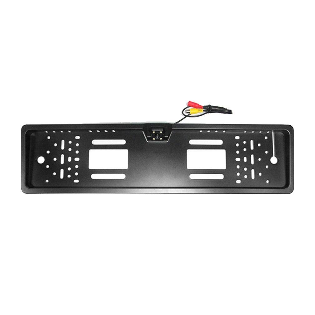 Système d'image de recul Ccd de caméra de recul de cadre de plaque d'immatriculation LED Hd Installation très facile