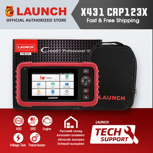Image 1 - LAUNCH X431 CRP123X CRP123 X Auto Code Reader OBD2 Scanner OBDII Diagnostic Tool ENG AT ABS SRS Launch Scanner Automotive Tool