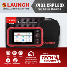 LAUNCH X431 CRP123X CRP123 X lector de códigos para automóvil OBD2 escáner OBDII herramienta de diagnóstico ENG en ABS SRS Launch Scanner herramienta automotriz