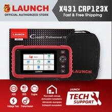 إطلاق X431 CRP123X CRP123 X السيارات رمز القارئ OBD2 الماسح الضوئي OBDII أداة تشخيص ENG AT ABS SRS إطلاق الماسح الضوئي أداة ذاتية الحركة