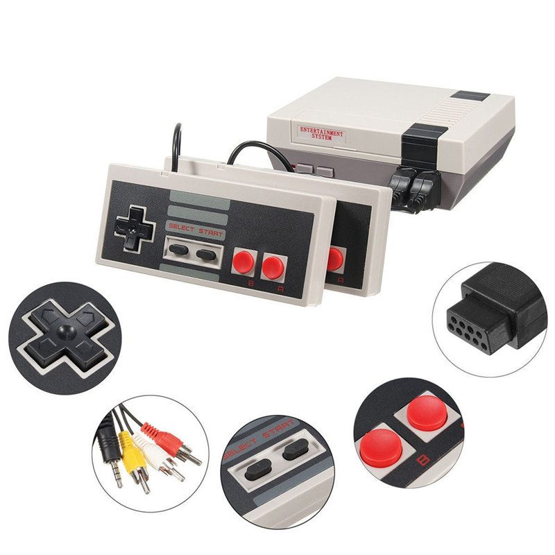 Mini TV Games Console Retro 8 Bit Player Console Video Game Built-In 620 Classic Games Arcade Gaming HD Machine Nintendo Ds