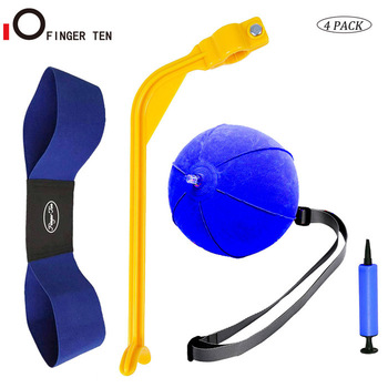 4 pcs / set golf swing training aid arm band trainer ball ball inflator posture correction gerakan untuk latihan pemula