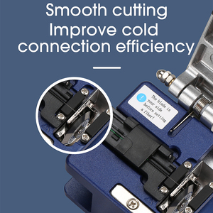 Image 4 - FC 6S FTTH Optical Fiber Cleaver metal Small High Precision Fiber cutting cable cold connection cutter tool
