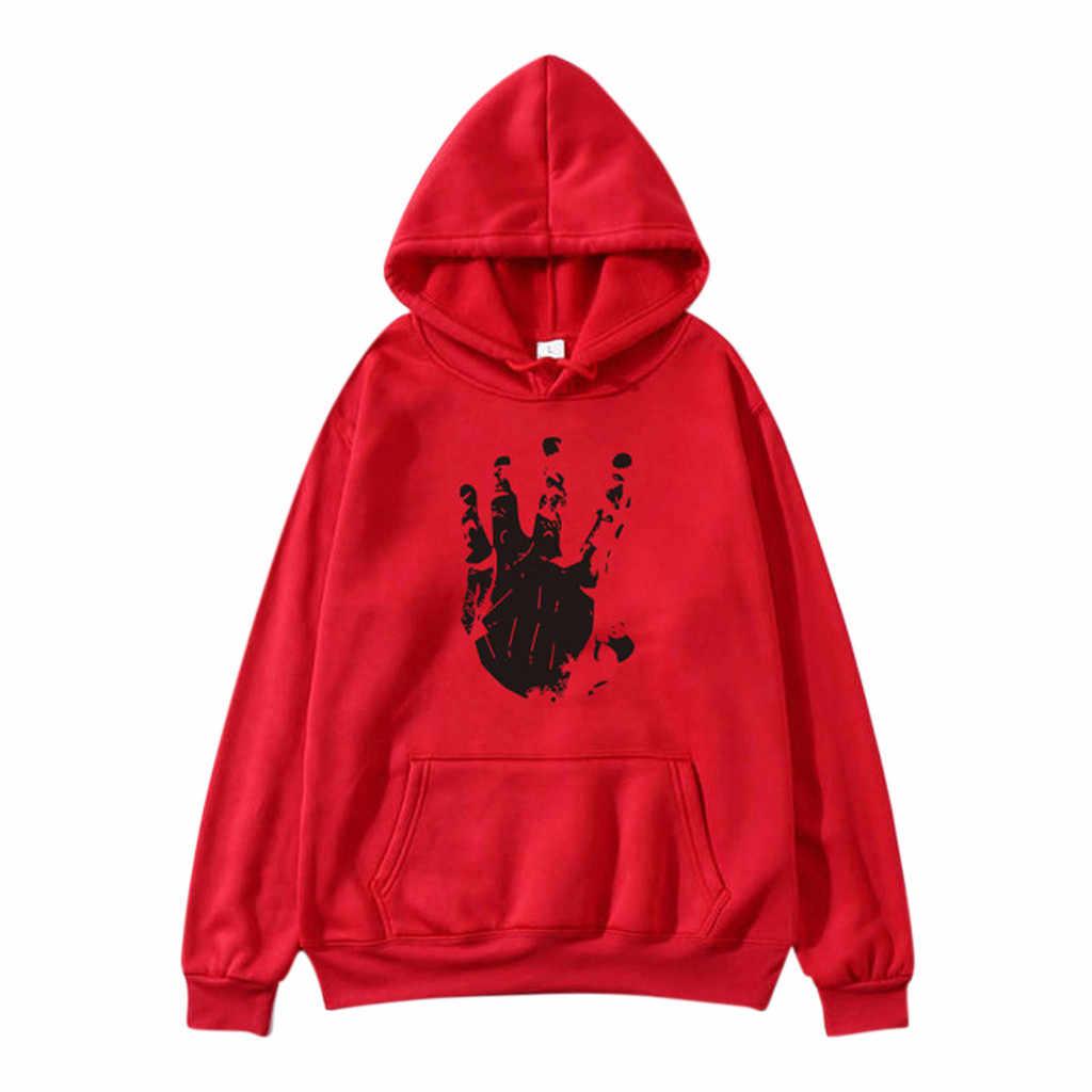 Muqgew Kpop Atasan Wanita Musim Gugur Harajuku Sweatshirt Streetwear Pullover Warna Tangan Cetak Moletom Feminino Inverno Толстовка