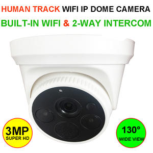 LEEKGOVISION 3MP WIFI IP Dome Camera Wireless Surveillance Security CCTV with Human Detection Tracking 2 Way Talk Cloud Storage