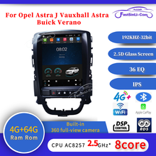 64GB أندرويد سيارة MP3 مشغل وسائط متعددة لأوبل أسترا J فوكسهول أسترا بويك فيرانو غس شاشة عمودية الملاحة