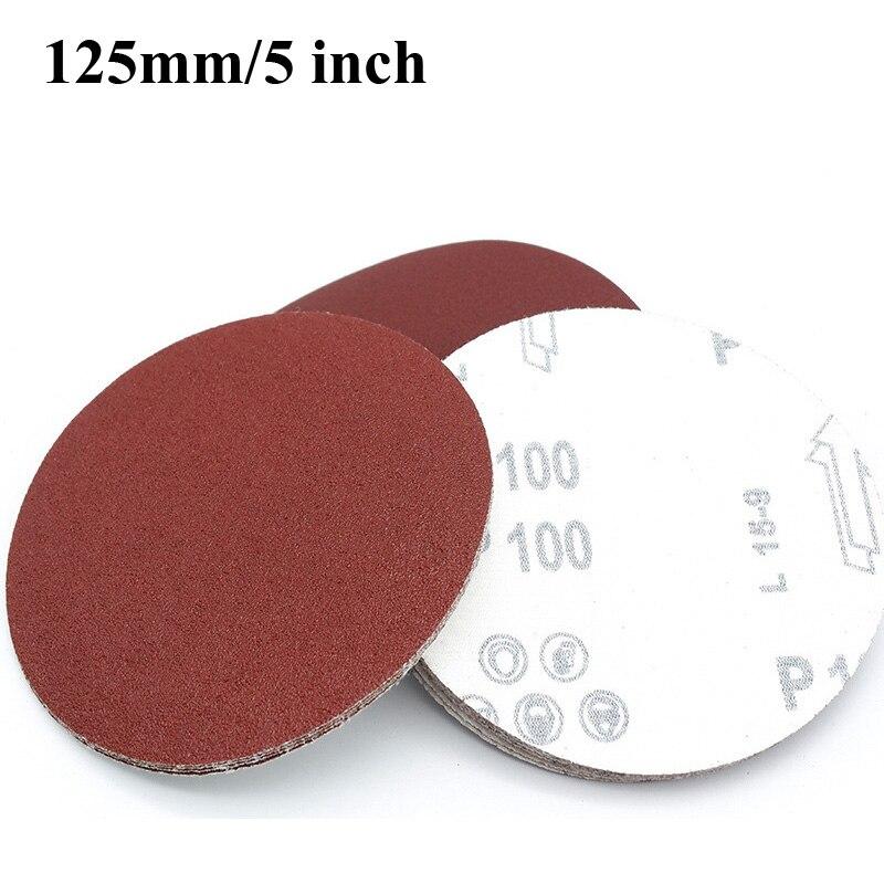 """6/"""" Dia Polishing Round  Sanding Flocking Sandpaper Sheet Disc 2000 Grit 10 Pcs"""