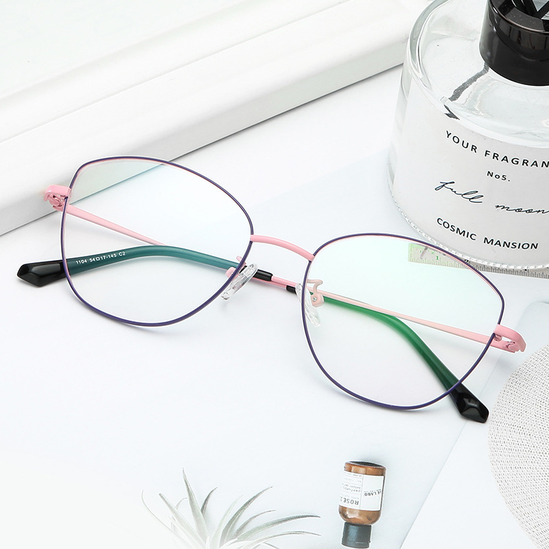 Anti-Blu-Ray Glasses/ Round Retro Personality Trend Art Unisex